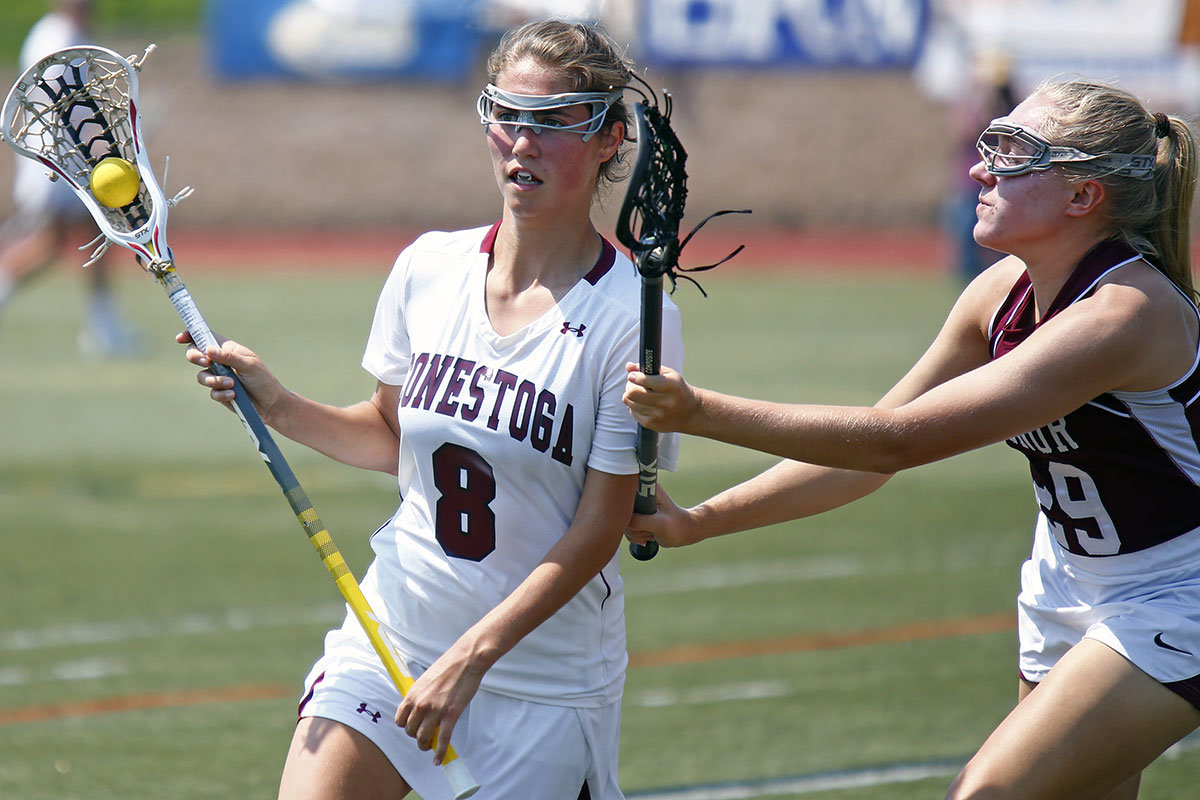 Conestoga's Borzillo named Pa. girls' lacrosse player of the year