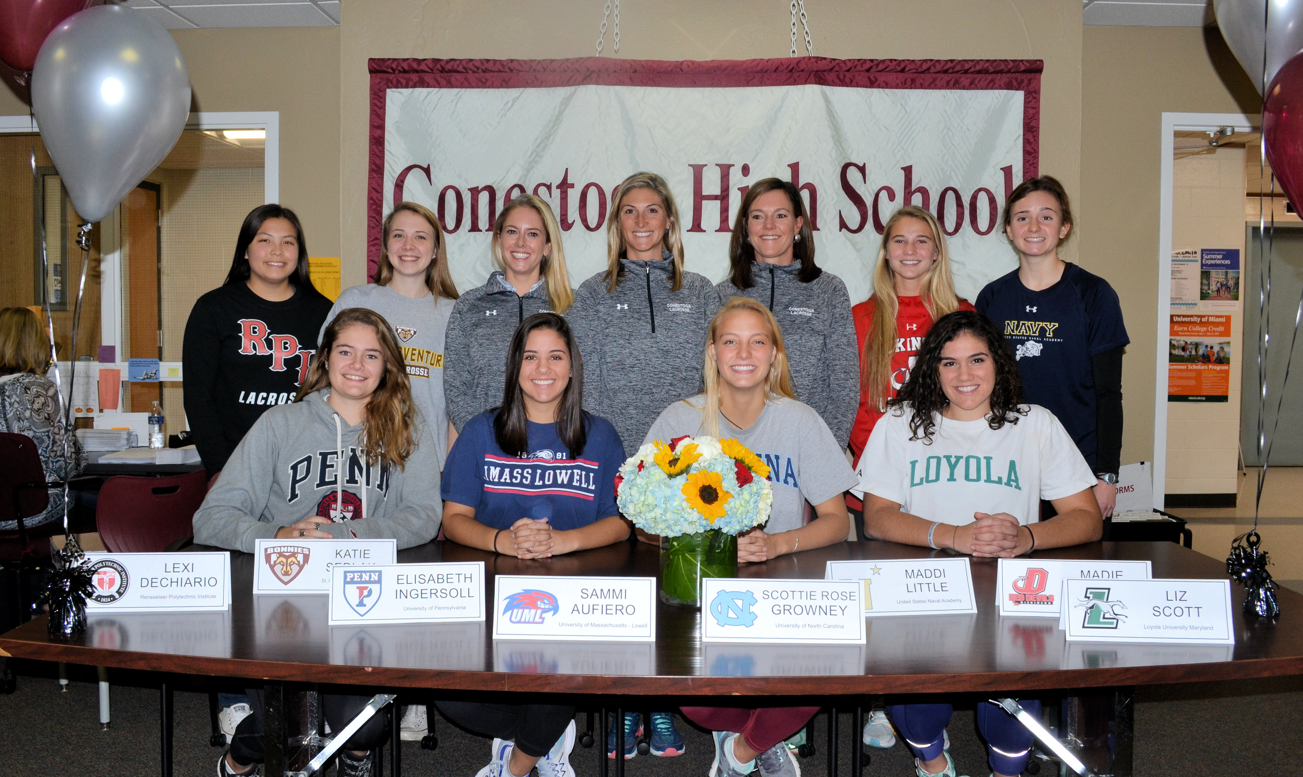 Congratulations to our Seniors on Signing Day!