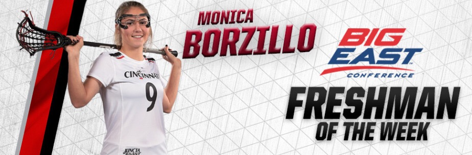 Alumna Spotlight: Monica Borzillo (2016) repeats freshman of the week!