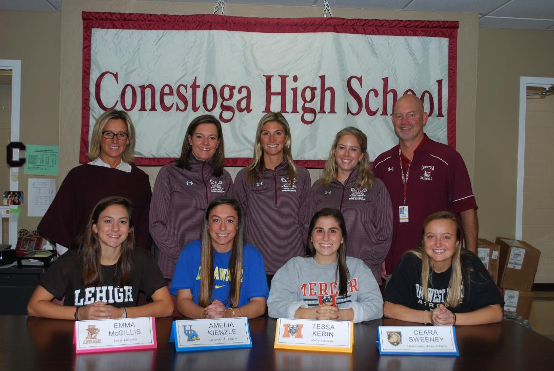 Congratulations to our 2018's on NLI Signing Day!